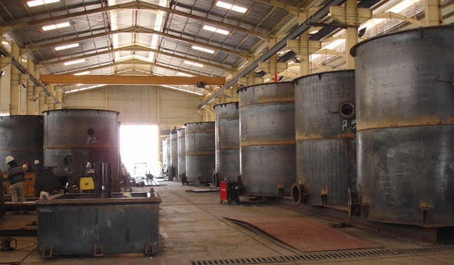 Storage Tank Fabrication and Construction Service